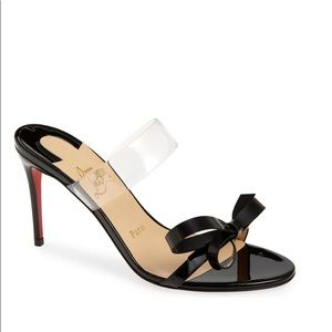 authentic/new christian louboutin just nodo 85